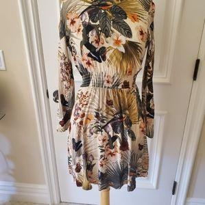 Tropical Mini Dress